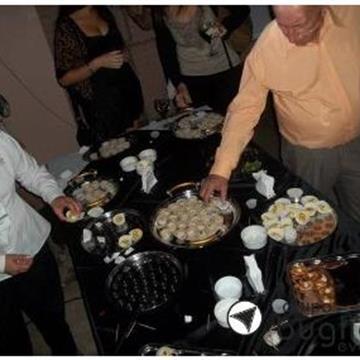 Manjares Catering del Grupo Bugliolo Eventos