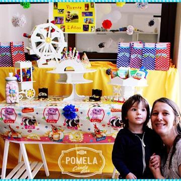 Pomela Candy Bar