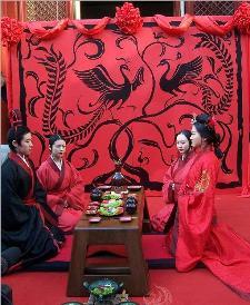 Boda Tradición China