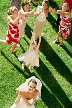 Tradición ramo de novia