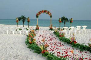 Consejos para una romántica Boda en la Playa
