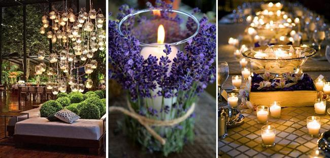 6 ideas para decorar con velas ineventos m xico for Decorar jarrones con velas