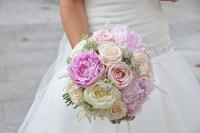 Ramos de novia: Rosas