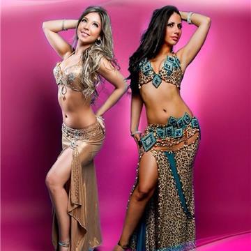 Bailarinas Arabes, Odaliscas Naíma & Shams