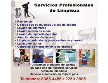 Servicios profesionales de limpieza san jos costa rica for Empresas de limpieza a domicilio