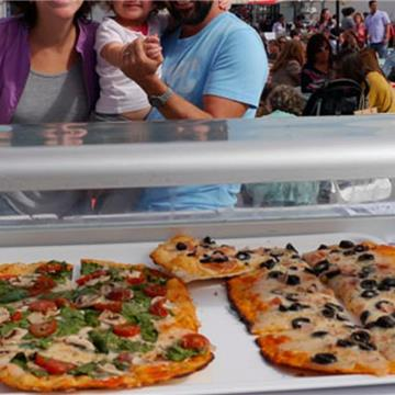 Gourmet Pizza Catering Madrid