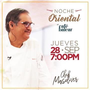 Café Balear by Chef Pedro Masoliver