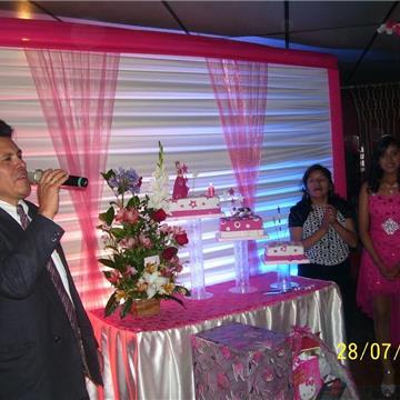 Maestro de Ceremonias Carlos Bernedo
