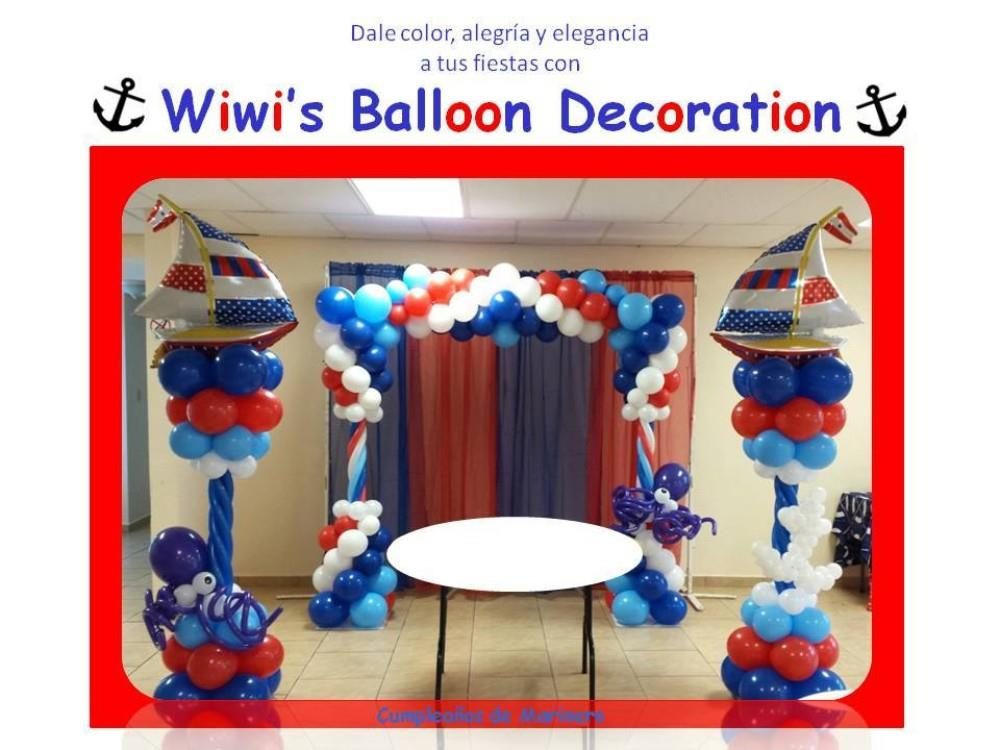 Wiwi 39 s balloon decor ponce puerto rico for Acanthus decoration puerto rico