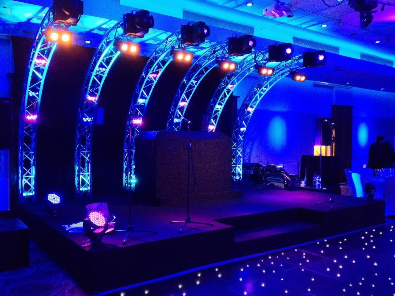 Portable Exhibition Backdrop : Pr stage sound lighting puerto rico